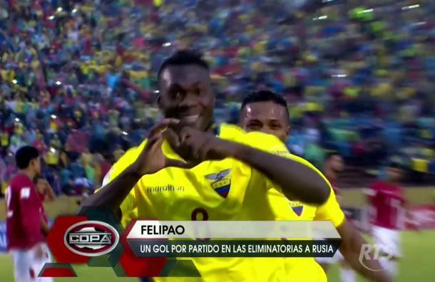 Felipao se encuentra en un gran momento goleador