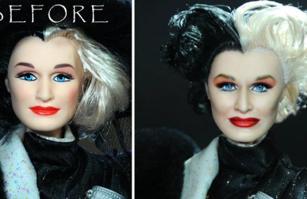 Este artista toma muñecas feas y las convierte en obras maestras
