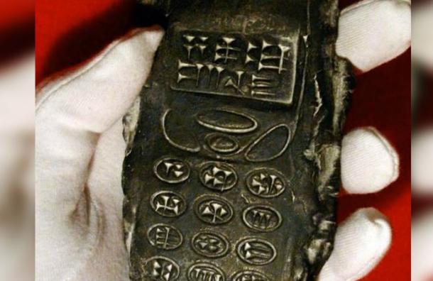 ¿Descubren teléfono celular de 800 años? La foto que se volvió viral en Internet