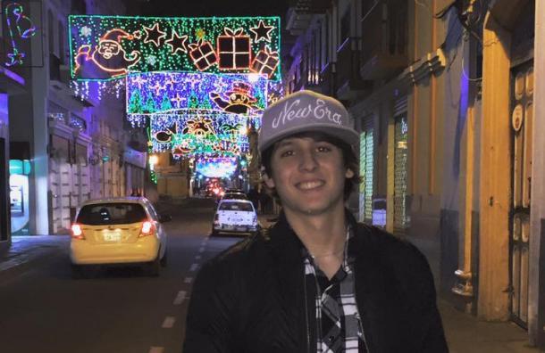 Christopher Vélez volvió a caminar por las calles de Loja