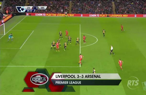Gran fútbol en la Premier League