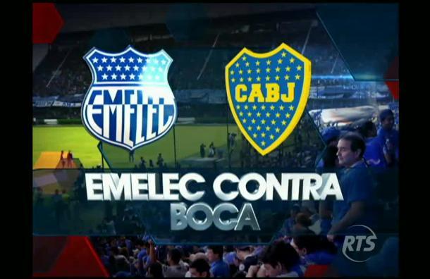 Emelec enfrentará a Boca Juniors