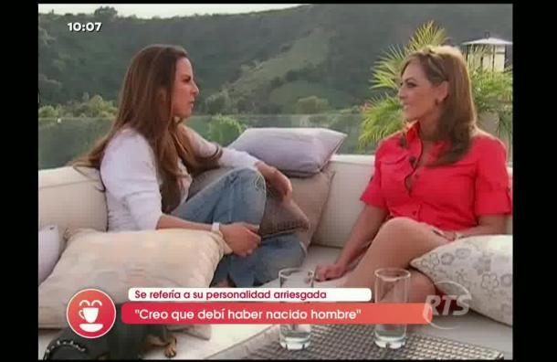 Prensa mexicana sospecha que Kate del Castillo sería homosexual