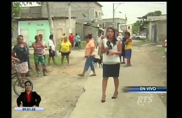 Moradores de Guasmo Sur hacen un llamado a las autoridades
