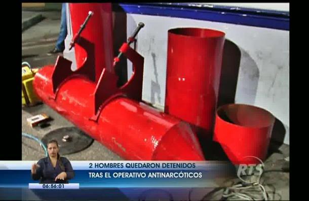 Nueva forma de traficar droga fue descubierta por la Policía Antinarcóticos