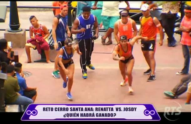 Reto Cerro Santa Ana: Renatta vs Josdy