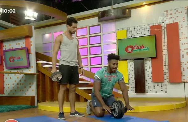 Oswaldo Vargas llega con nuevas rutinas de ejercicios