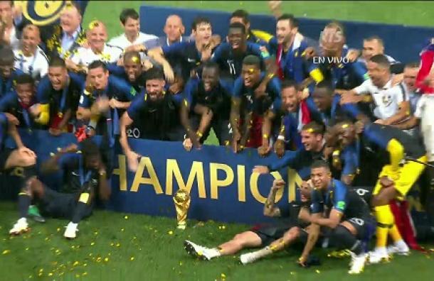 VIDEO: ¡Allez les bleus! Francia es el nuevo monarca del fútbol mundial