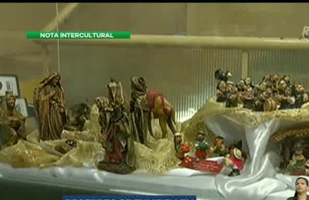 La Biblioteca Municipal de Guayaquil presenta una exposición de Pesebres