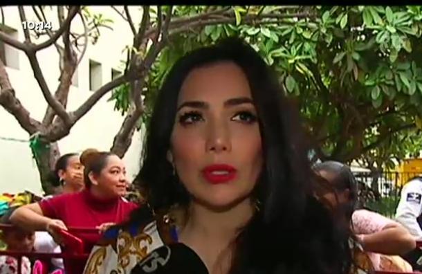 La cantante Pamela Cortés habla de su salud