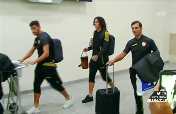 Barcelona retornó a Guayaquil para preparar su segundo encuentro en la Libertadores