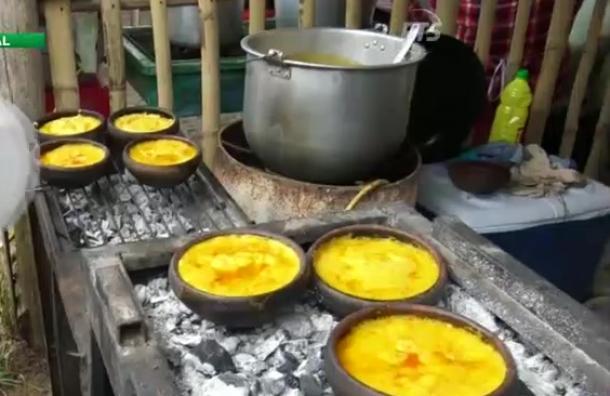 Fiesta tradicional del maíz en Los Ríos