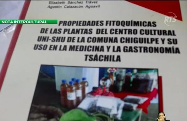 Publican un libro sobre plantas nativas de los Tsáchilas