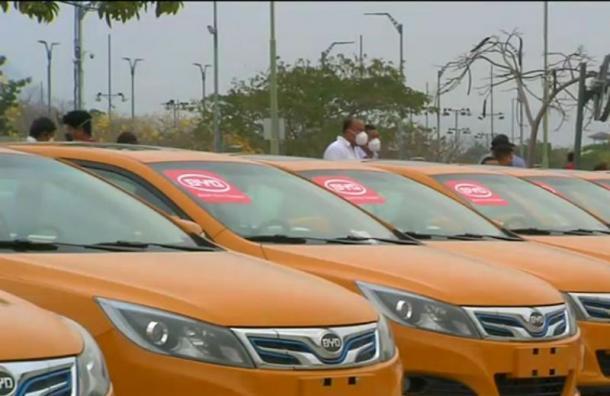 Guayaquil tendrá la flota más grande de taxis eléctricos